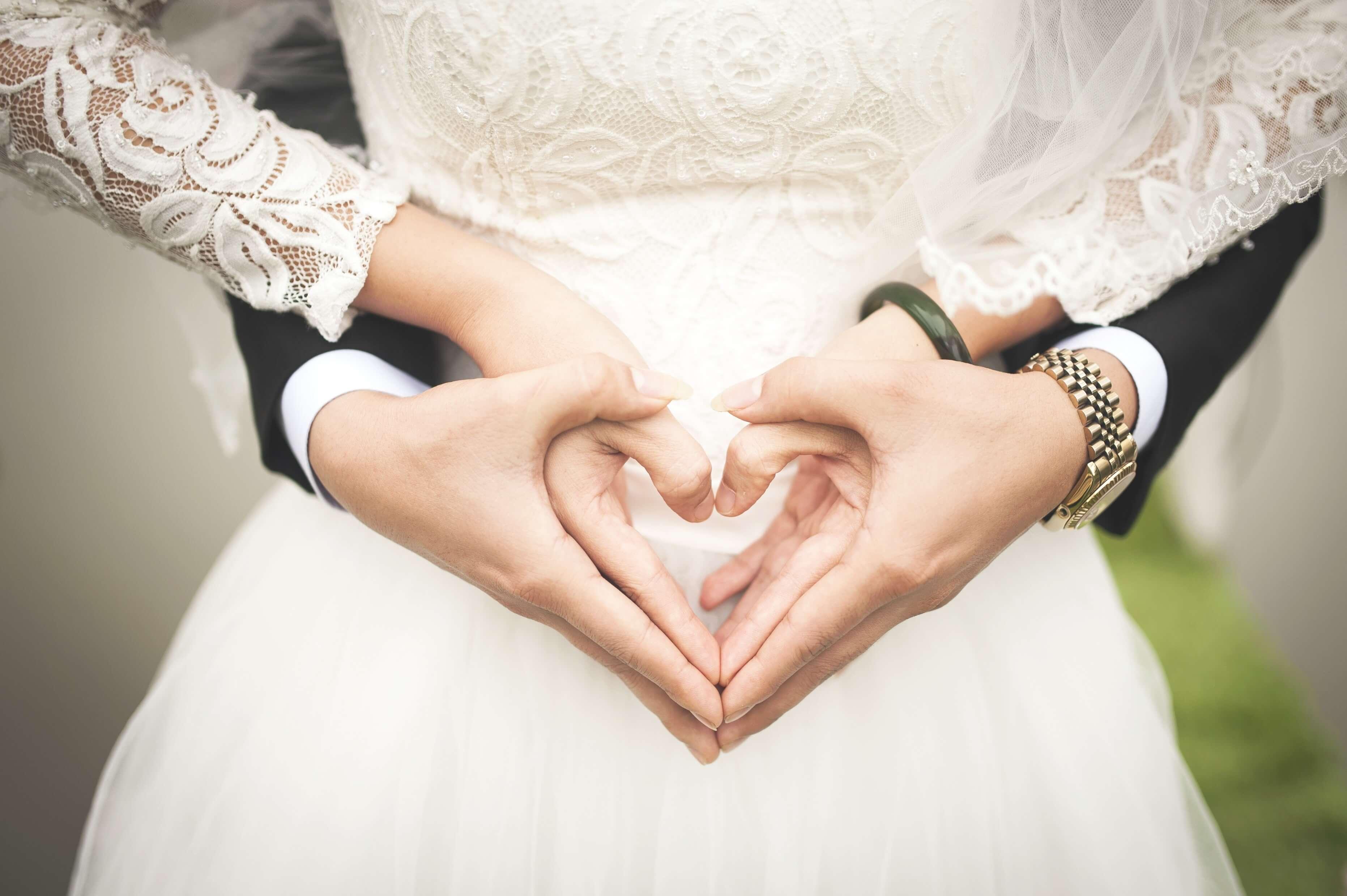 weddingハート